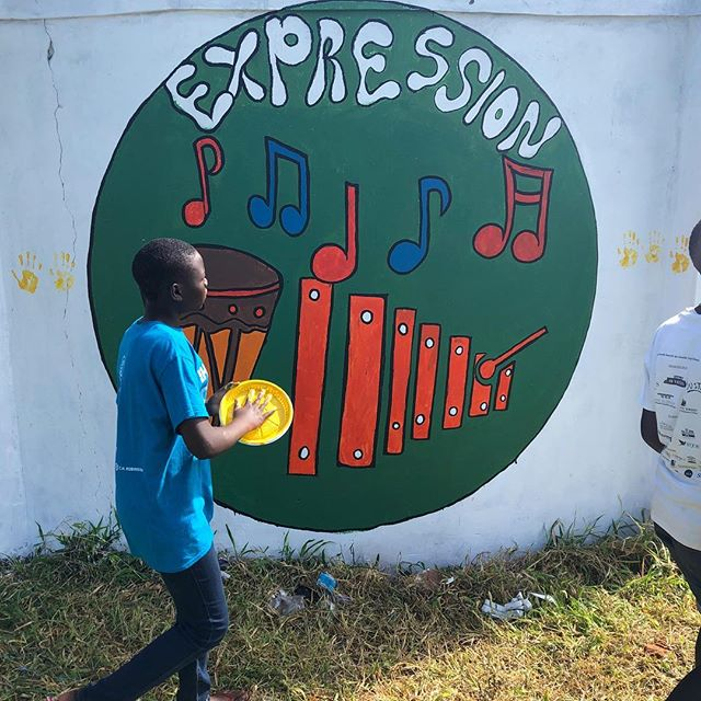 Our story continues in Gulu, Uganda at Gulu Primary School. #projectbuildinghope #thesimplegood #heartofathousandhills #camovement #uganda #gulu #mural