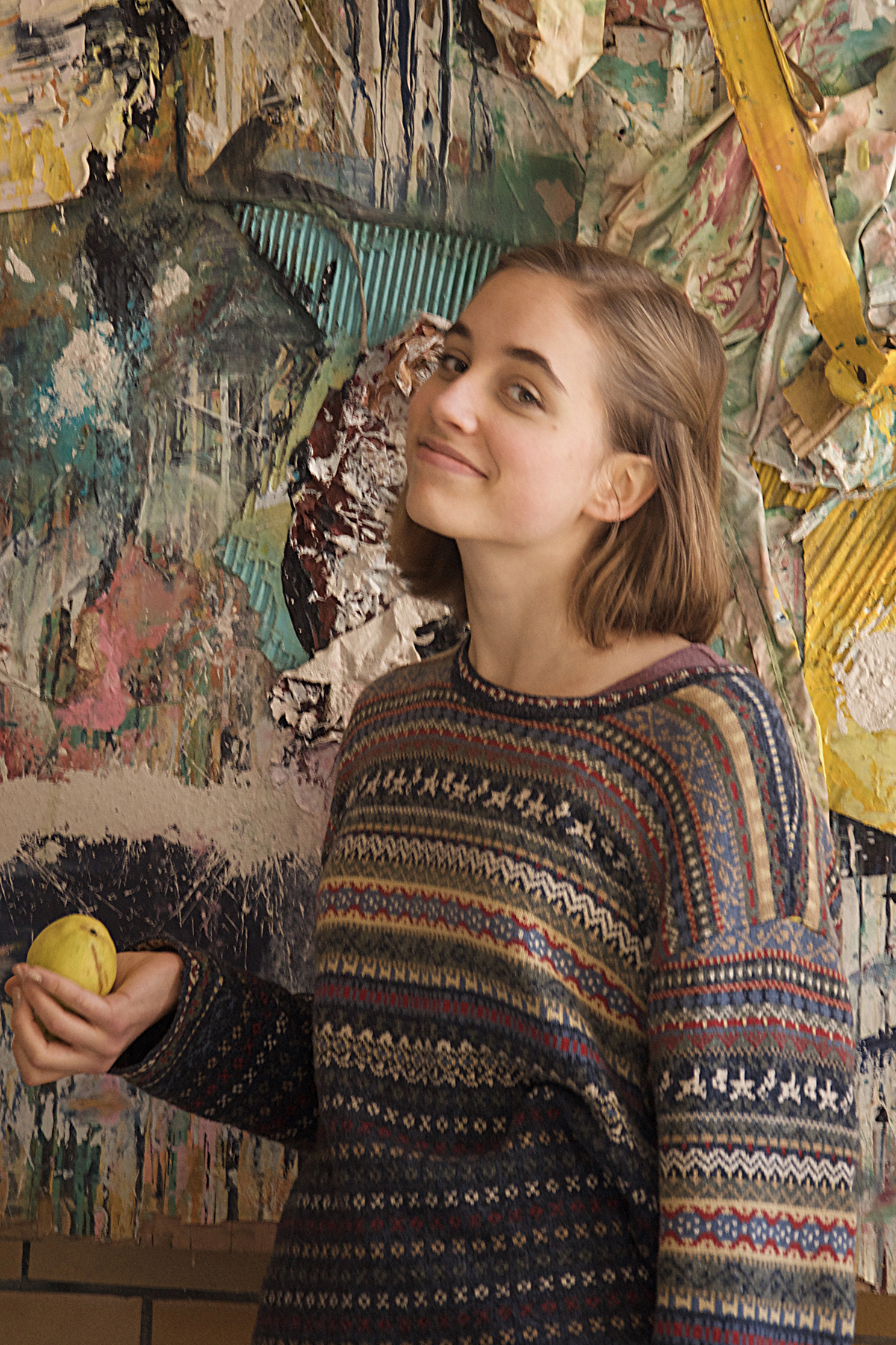 """MARY-DRYDEN MAIO """"I shop almost exclusively at thrift stores because I don't like the treatment of laborers in the textile industry."""""""
