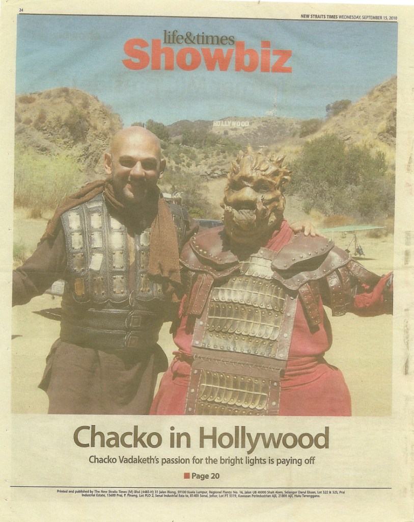 Cover Story on Chacko 1