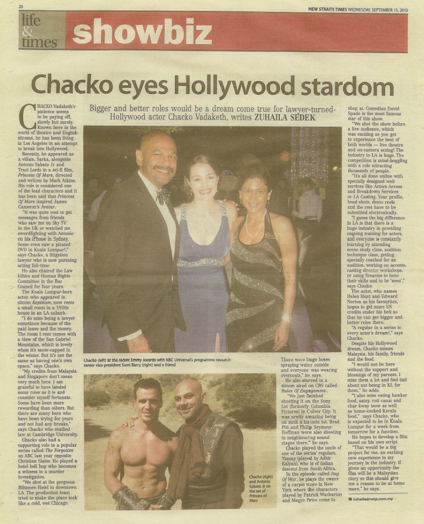 Cover Story on Chacko 2