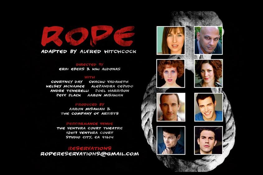 Alfred Hitchock's Elegantly Macabre Thriller on Stage - ROPE