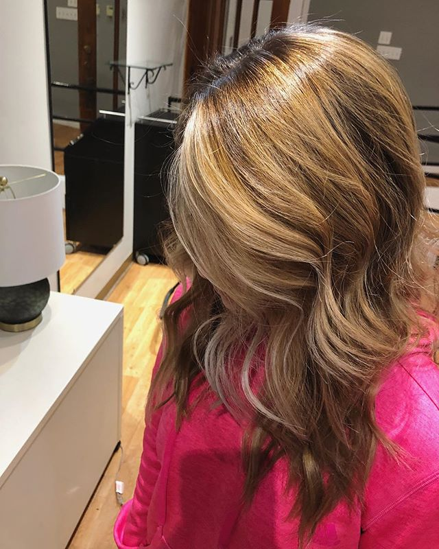 Beautiful balayage done by Lauren E. @lo.does