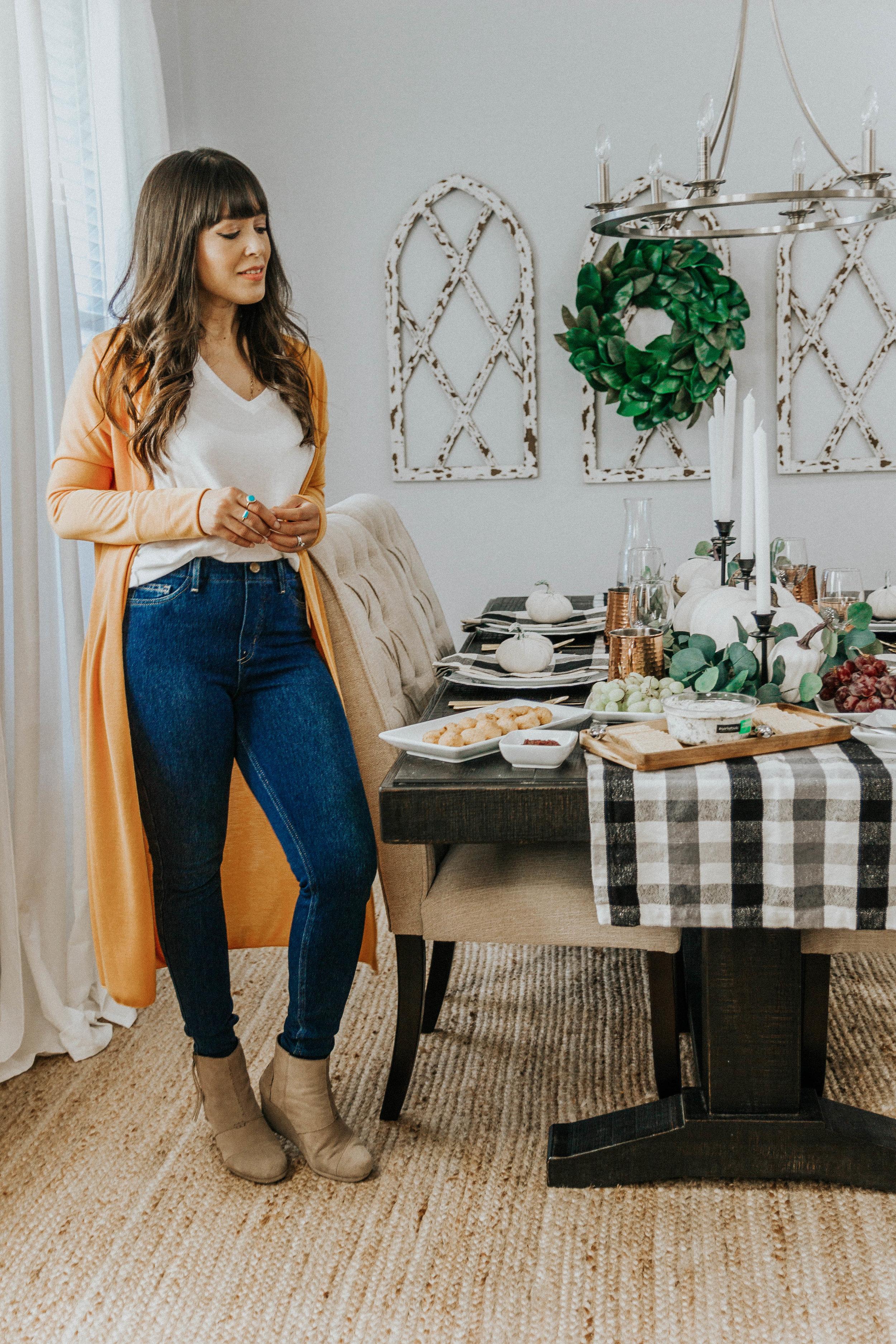 Thanksgiving table decor Spanglishfashion