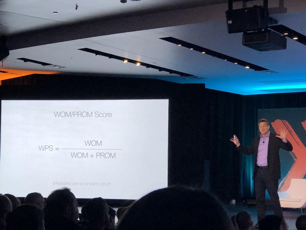 David Binetti presenting at Lean Startup Conference 2018