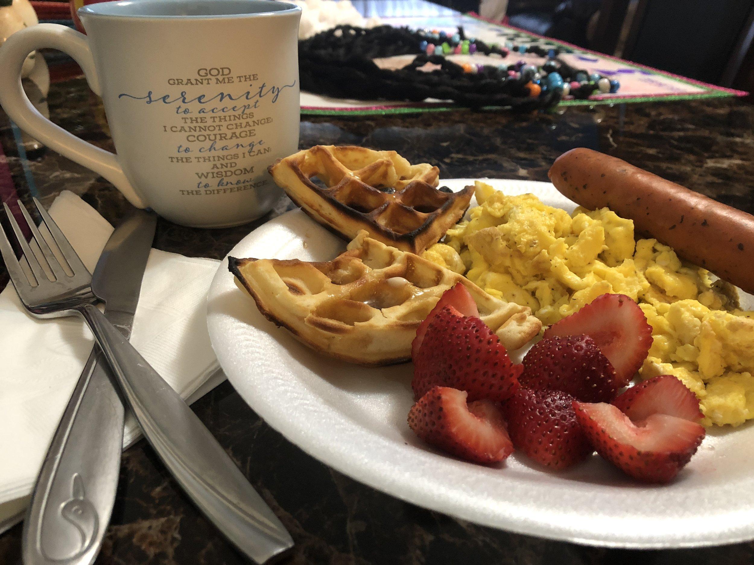 Savoring Sunday Morning
