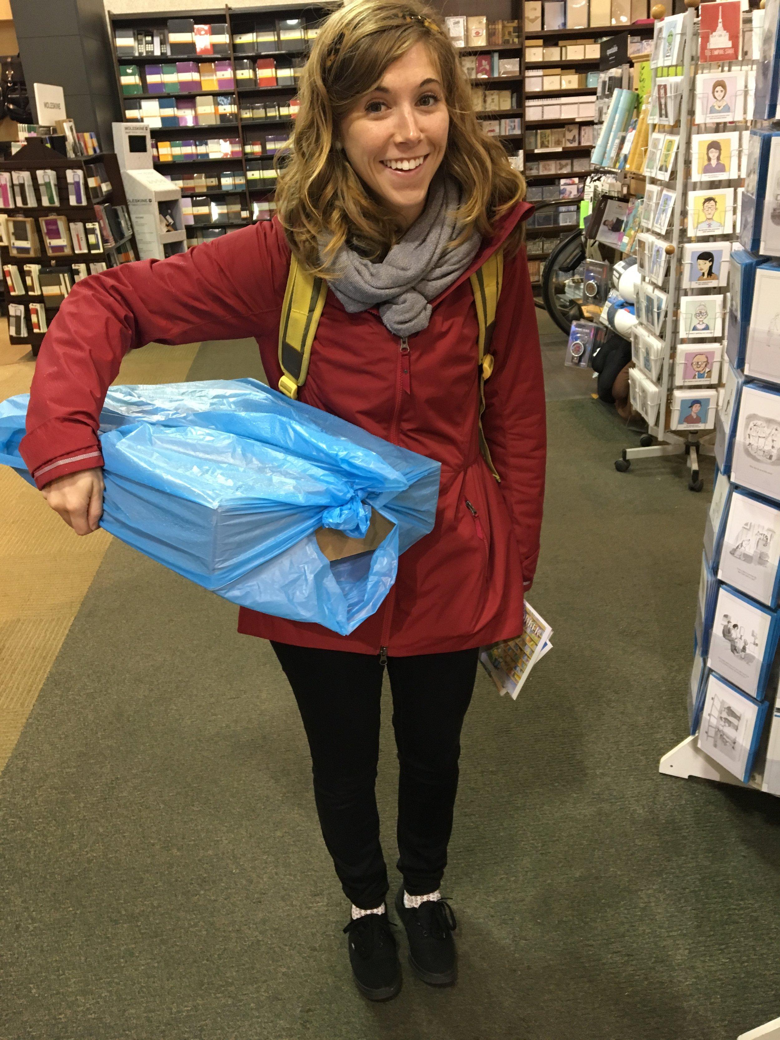 Diane's trip to NYC with Emily Arrow!