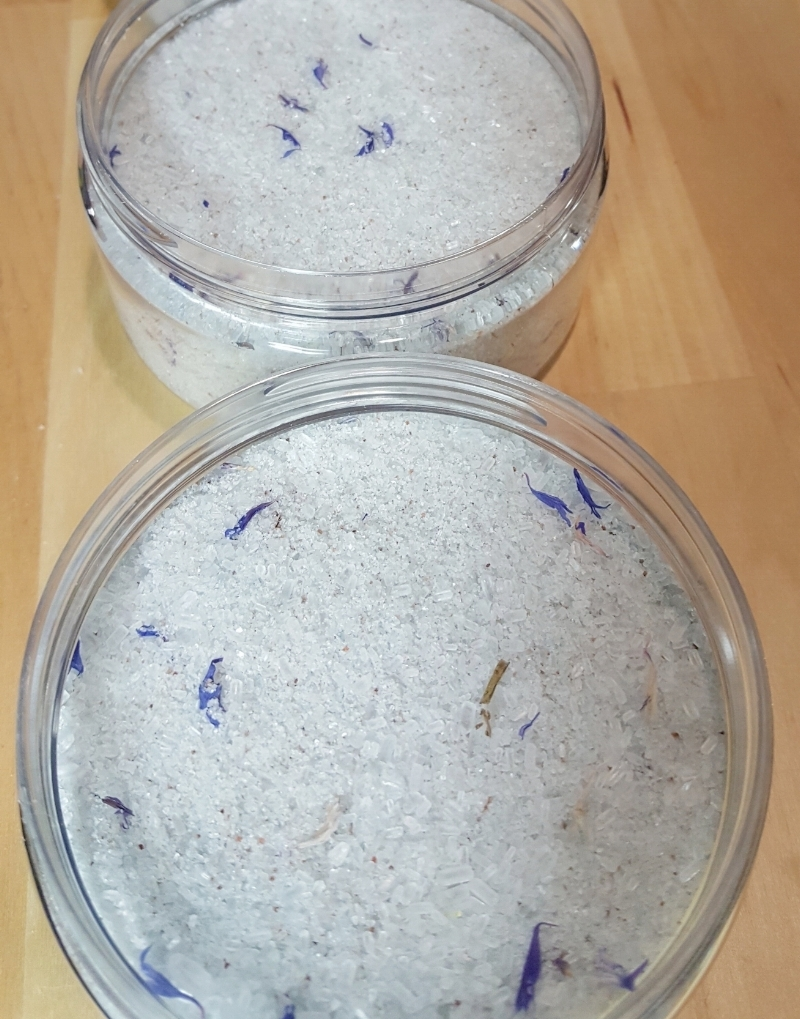 Blackberry Ambrosia Mineral Bath Salts~ A divine experience for your body & senses.