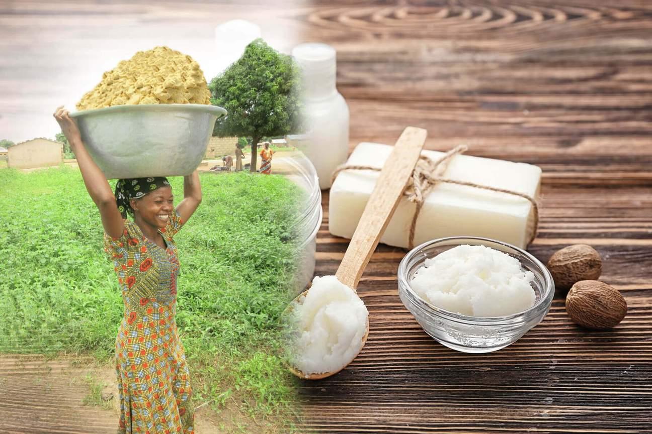 Certified Organic Fair Trade Baraka Shea Butter is produced by women & families in Ghana. Photo courtesy of  Baraka Shea Butter .
