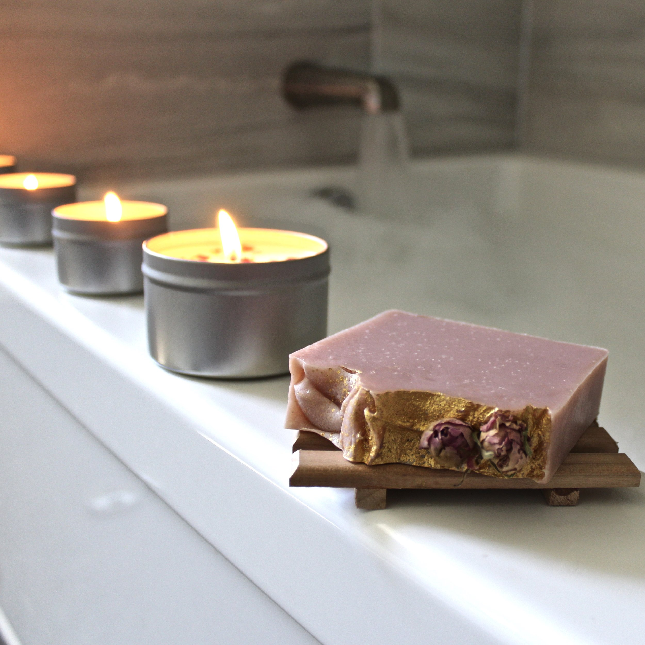 Heart & Arrow Travel Candles are perfect for creating a personal sanctuary anywhere!