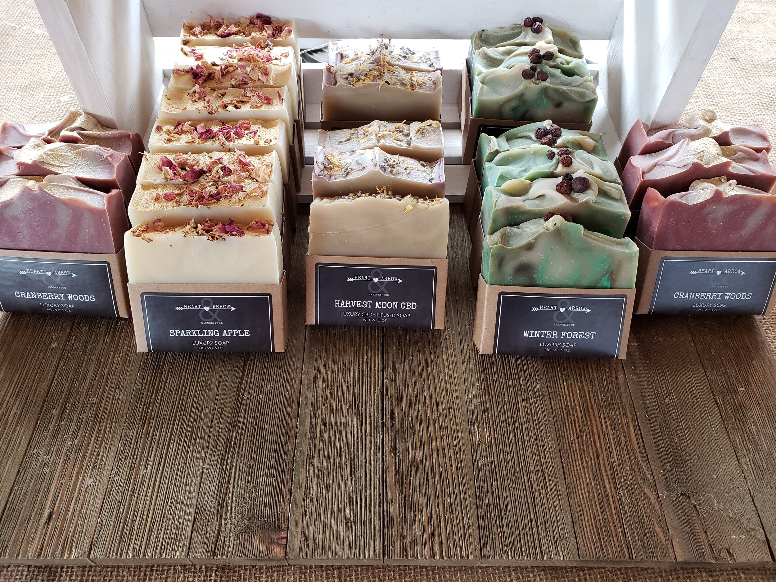 Holiday Soaps Are Here! - SHOP THE HOLIDAY COLLECTION NOW
