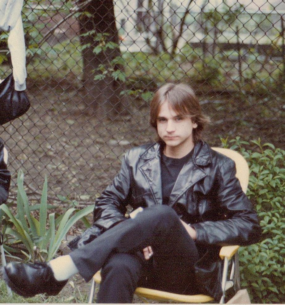 Dave in Hoboken circa late 1980s