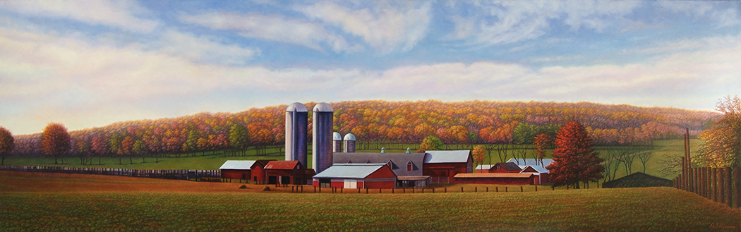 Buffalo Farm, Readington, NJ, Hunterdon Medical Center ER, 3'x10'