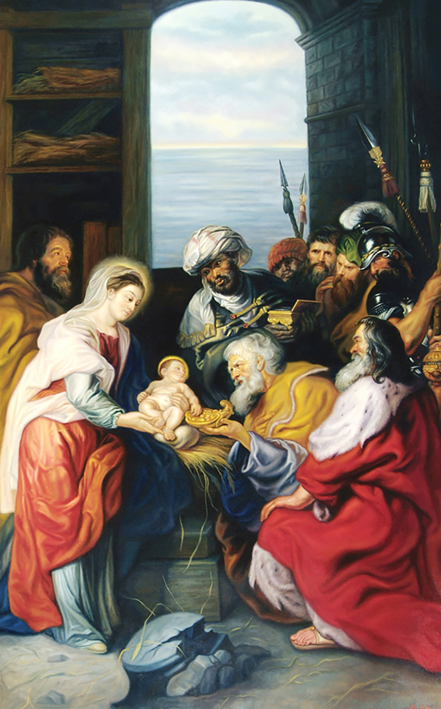 Nativity (Rubens), Nativity of Our Lord Church, Monroe Twp., NJ