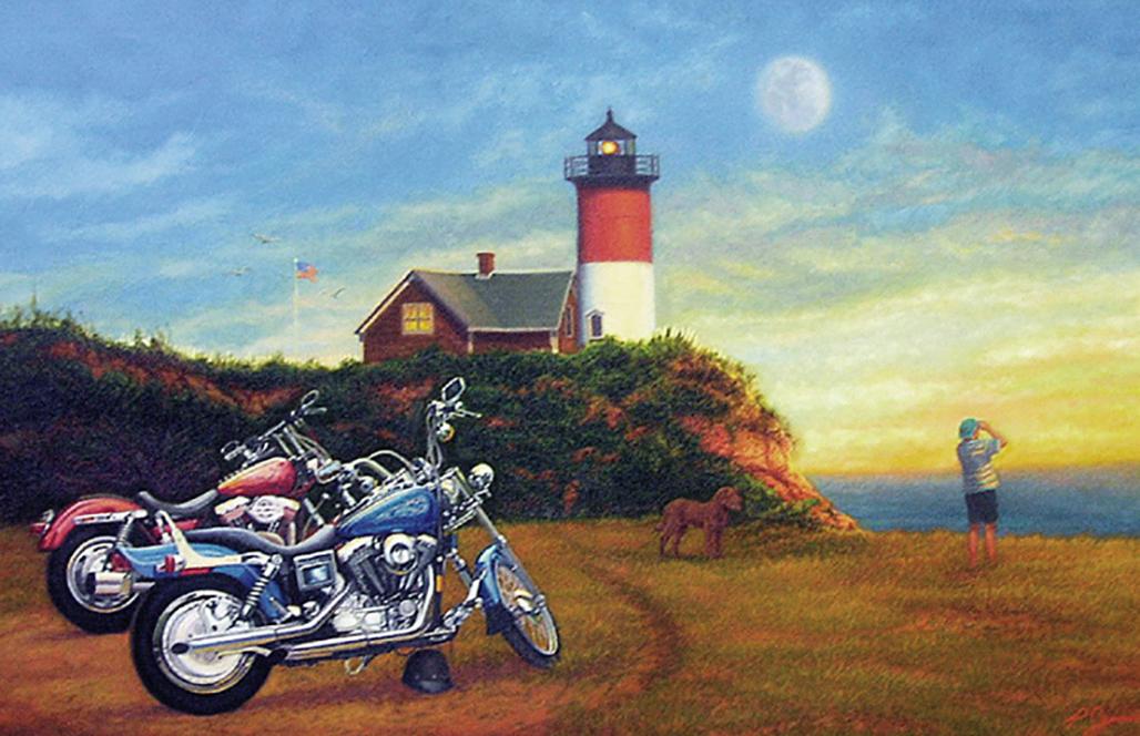 Cape Cod Harleys