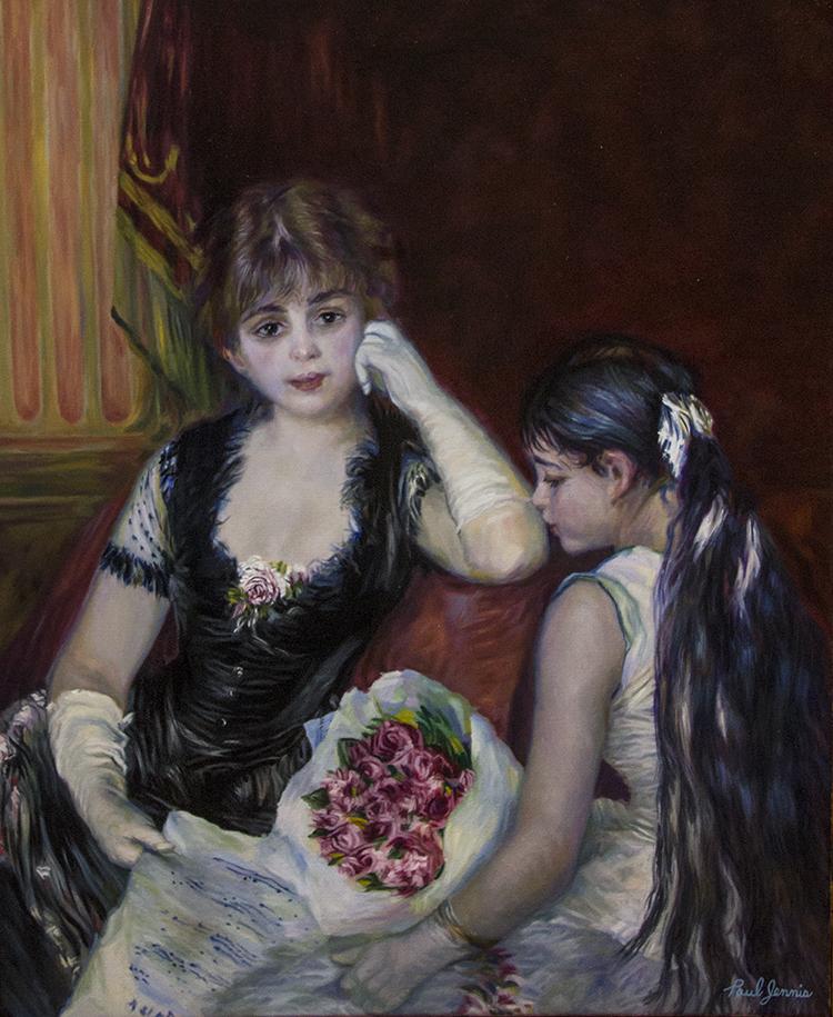 At The Concert, Pierre August Renoir