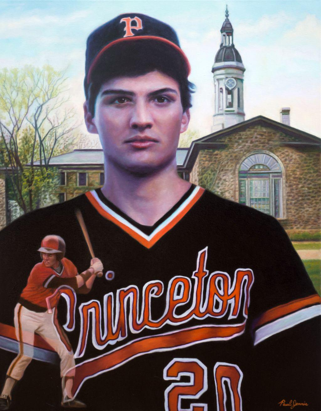 Princeton baseball player Dan Arendas