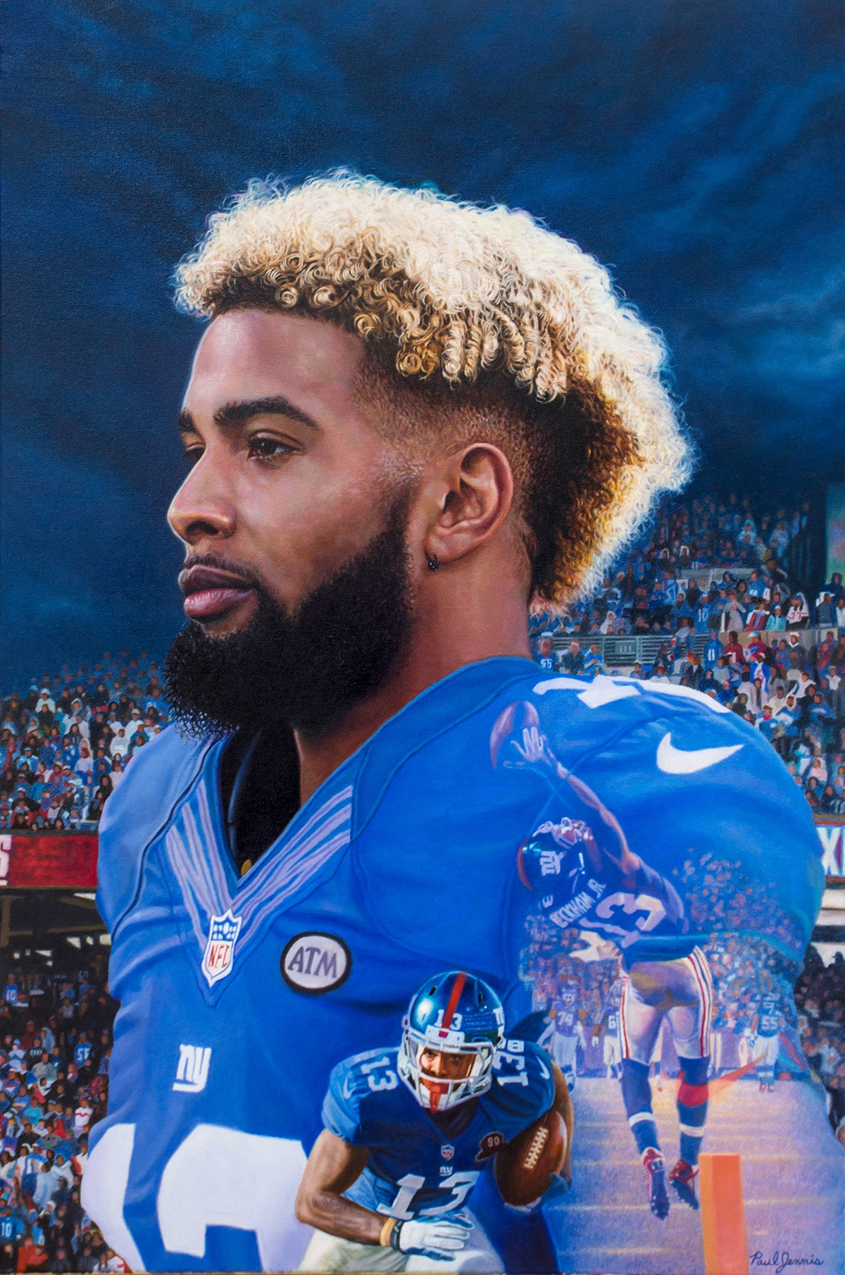Odell Beckham Jr. New York Giants WR