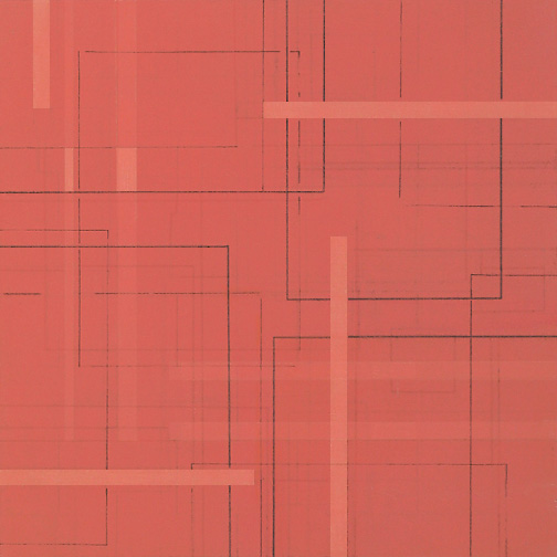 "Color Theory 2  Acrylic on Hardboard  12"" x 12""  2004"