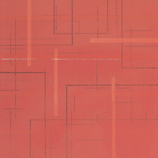 "Color Theory 1  Acrylic on Hardboard  12"" x 12""  2004"