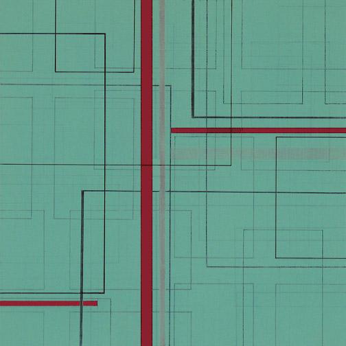"Color Theory 5  Acrylic on Hardboard  12"" x 12""  2004"