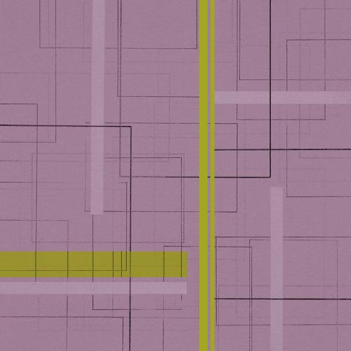 "Color Theory 7  Acrylic on Hardboard  12"" x 12""  2004"