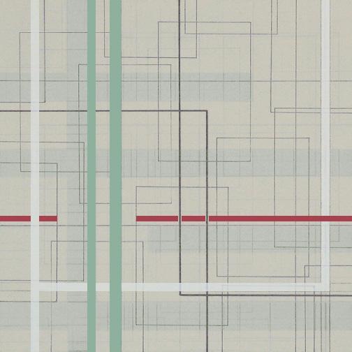 "Color Theory 14  Acrylic on Hardboard  12"" x 12""  2005"