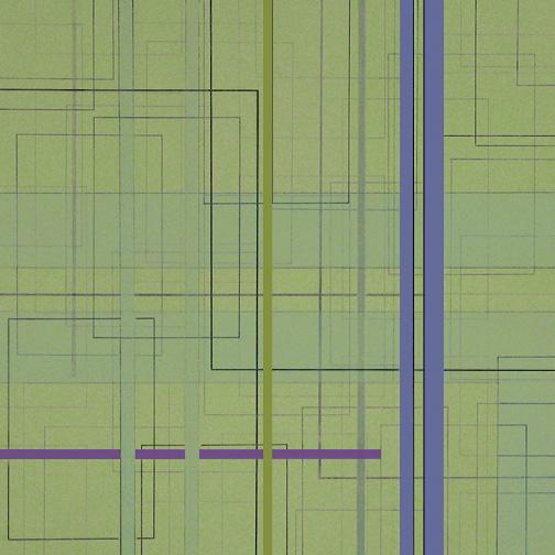 "Color Theory 15  Acrylic on Hardboard  12"" x 12""  2005"