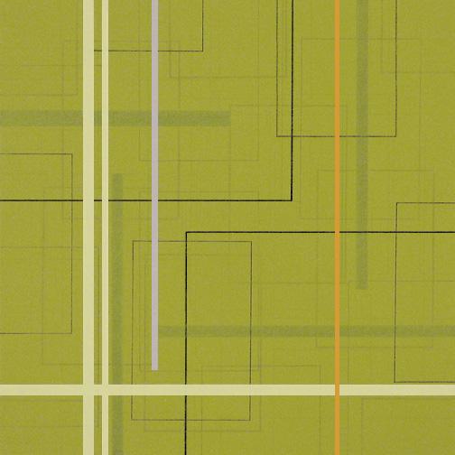 "Color Theory 19  Acrylic on Hardboard  12"" x 12""  2005"