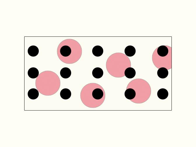 Polka Dot 7  Acrylic on Hardboard