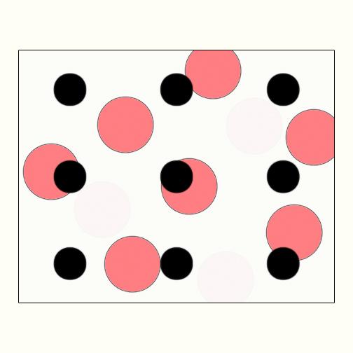 Polka Dot 3  Acrylic on Hardboard