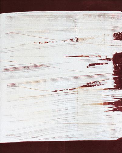 "Movement  Acrylic on Canvas  26"" x 24""  1999"