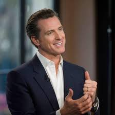 California Lieutenant Governor Gavin Newsom
