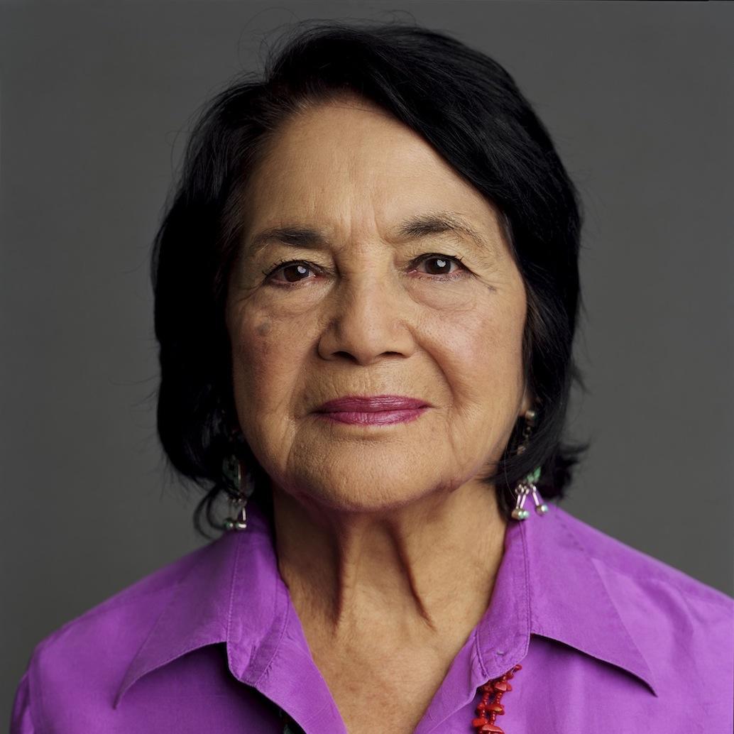 Co-founder of the National Farmworkers Association Dolores Huerta