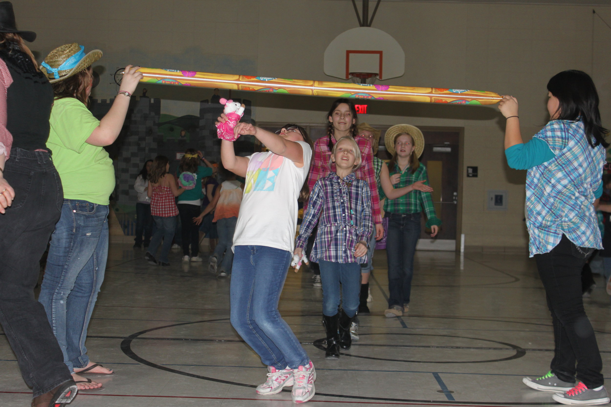 Girl Scouts dance