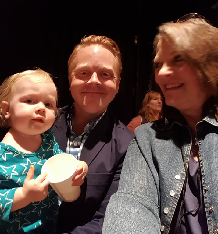 I'm with Jeff and his LITTLE ONE at TrbieConf 2017