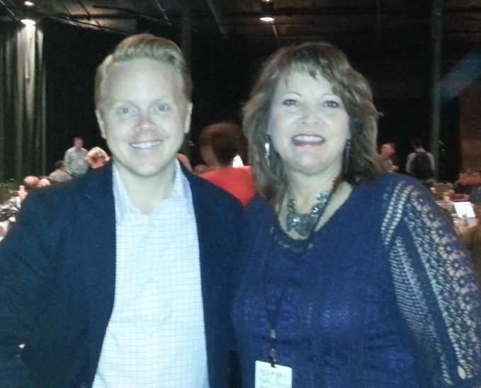 Tribe Conference ONE: Aug 2015, my first pic with Jeff Goins