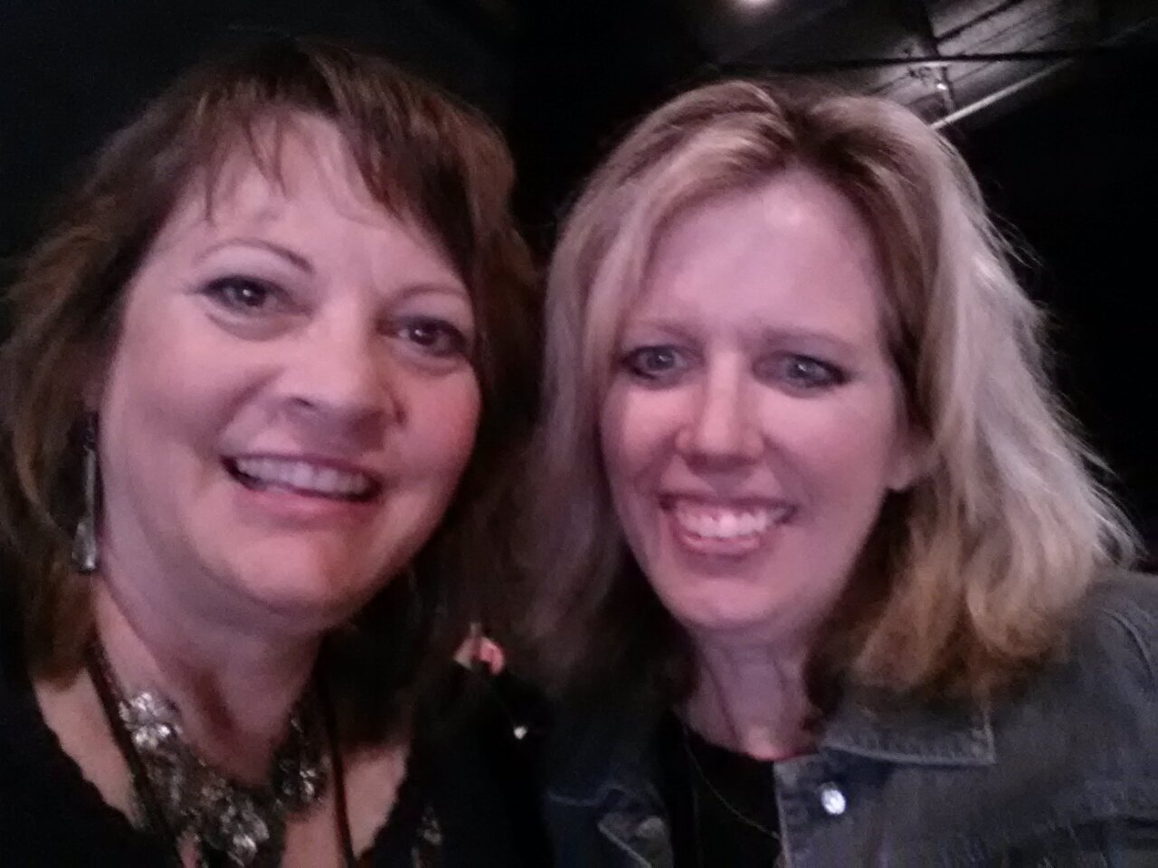 Kathy and Nancy Bouwens at Tribewriters 2015 Conference in Franklin, TN.