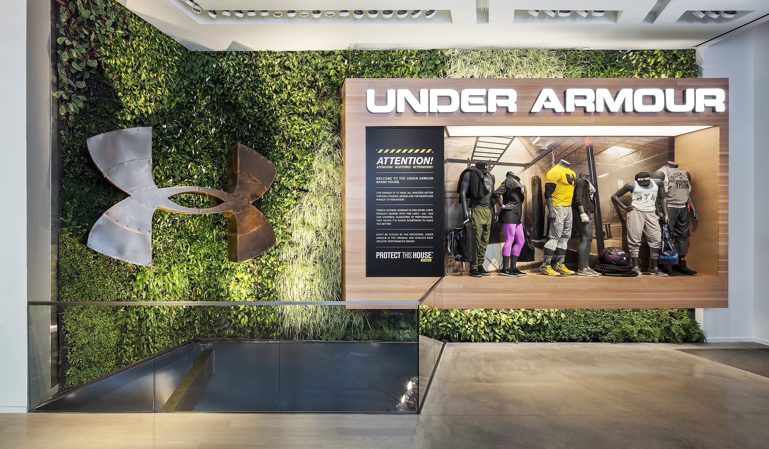 Under Armour NYC   Architecture + Information