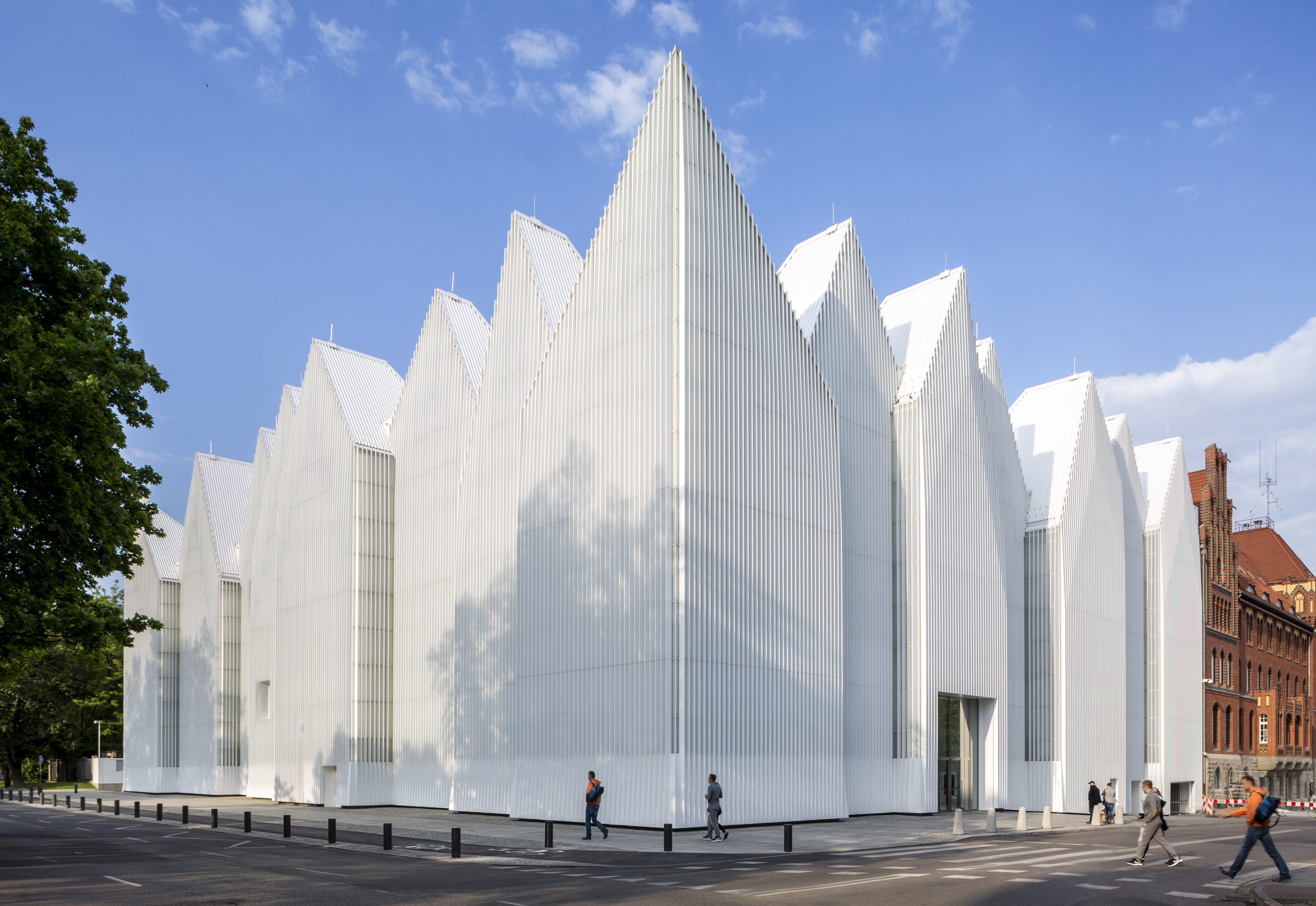 Szczecin Philharmonic Hall, Poland   Estudio Barozzi Veiga