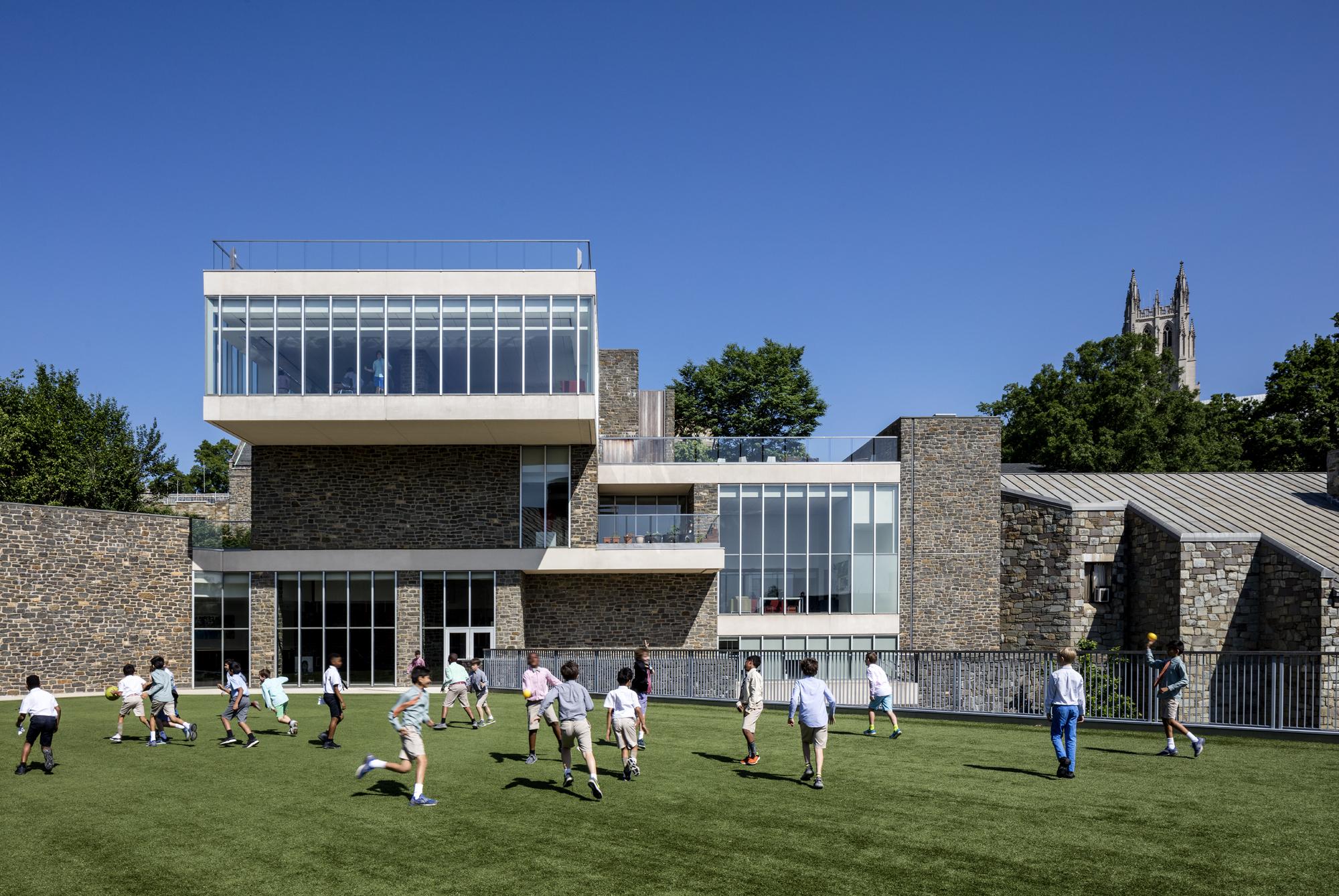 St.Albans School, Washington DC   Skidmore, Owings & Merrill