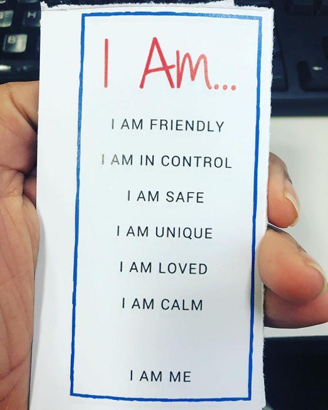 Affirmations for the tamariki this week ❤️ . . . . . . #affermations #kidsyoga #empoweringchildren #kidsyogateacher #teachthemyoung #iam #mindfulnessforkids #breathingexercisesforkids #wellington #nz #preschoolyoga #kidsyoga #yogaforteens