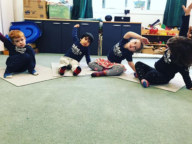 """""""Yoga is good to exercise and breathe....Jess comes every Tuesday"""" -Bea . So what makes Kids Yoga NZ different from other movement-based activities that incorporate music and games? ❤️ There is no other form of exercise that offers such a wide range of movement ❤️ Children's yoga not only exercises our body, but it also exercises the mind and strengthens breathing. ❤️Unlike an adult yoga class, there is loads of interaction in our classes. ❤️ Children yoga fosters not only an awareness of ourselves and our friends but creates a broader awareness of the world around us.  In short, Kids Yoga NZ is FUN Yoga! . Now taking bookings for Term 1 2019 Pre-School and School classes. . . . #kidsyoga #kidsyogaisfunyoga #kidsyogateacher #empoweringchildren #breathingexercisesforkids #mindfulnessforkids #preschoolyoga #schoolyoga #yoga #teachthemyoung❤️ #nz"""