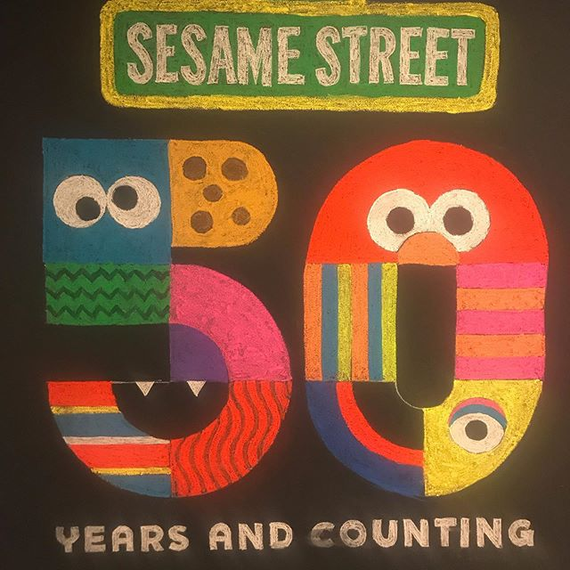 Every time I visit Sesame Workshop, I seem to shrink down to half my size. I suppose this is where it started all those years ago, when I was a wide-eyed intern. Or was it 50 years ago when my grandma probably had the good sense to turn on @sesamestreet for my 5-year-old mama? In any case, we did good. . . . #kidsmedia #sesameworkshop #sesamestreet #childrenstv #sesame50