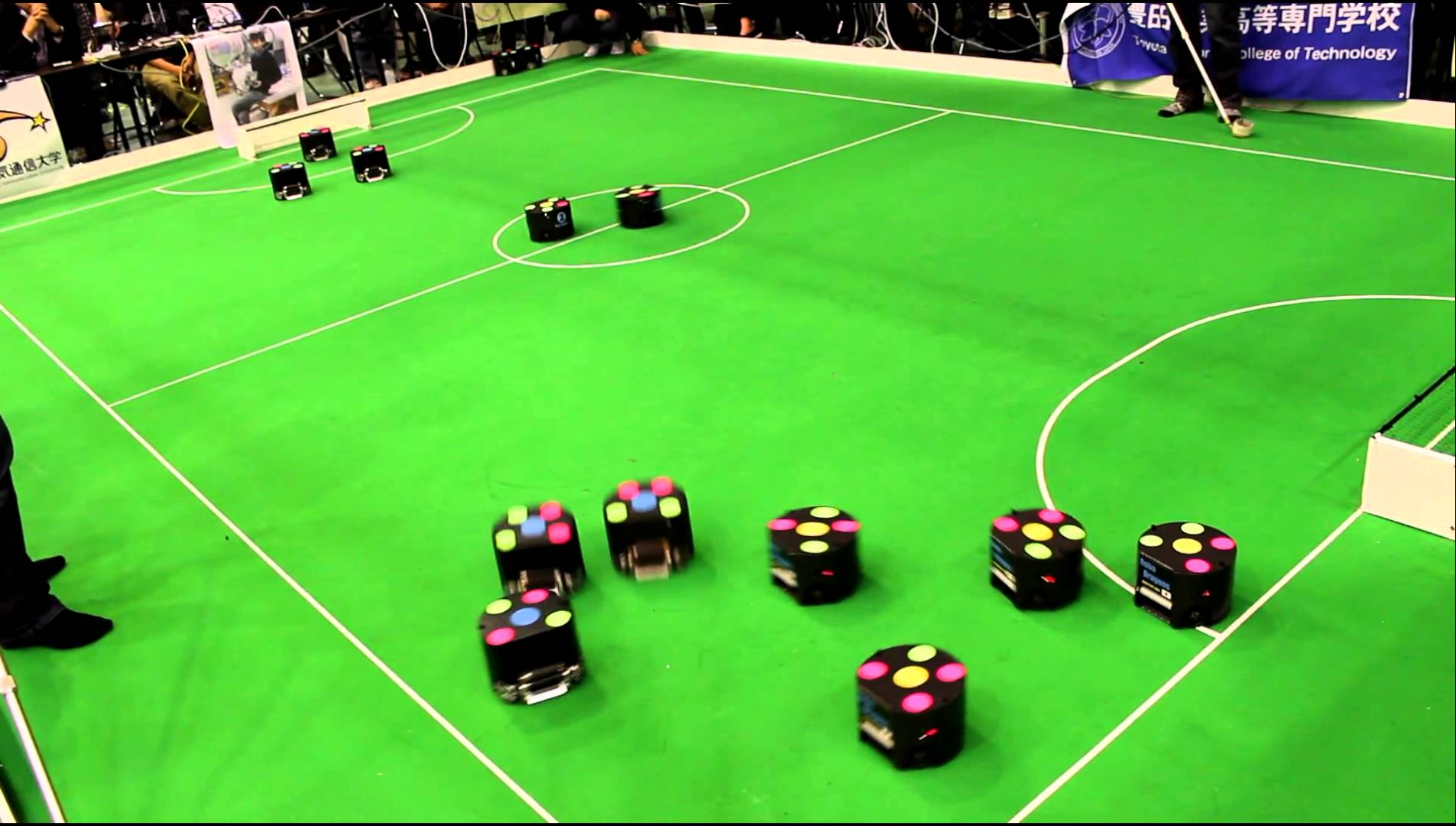 A photo from RoboCup Japan open 2013