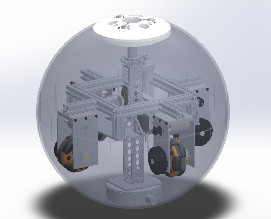 The internal design of our BB-8 life sized droid