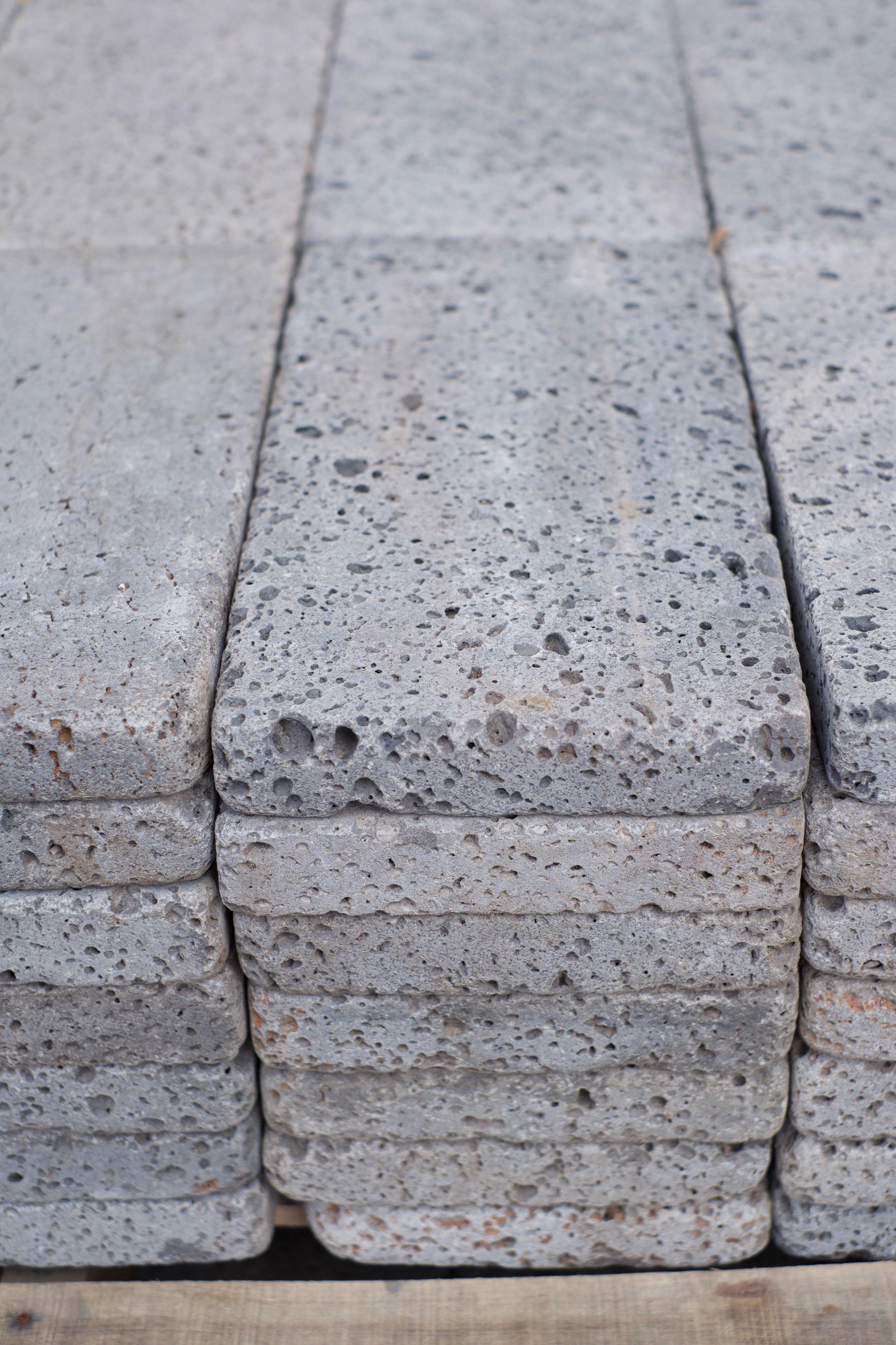 Jurassic Stoneworks lave pavers