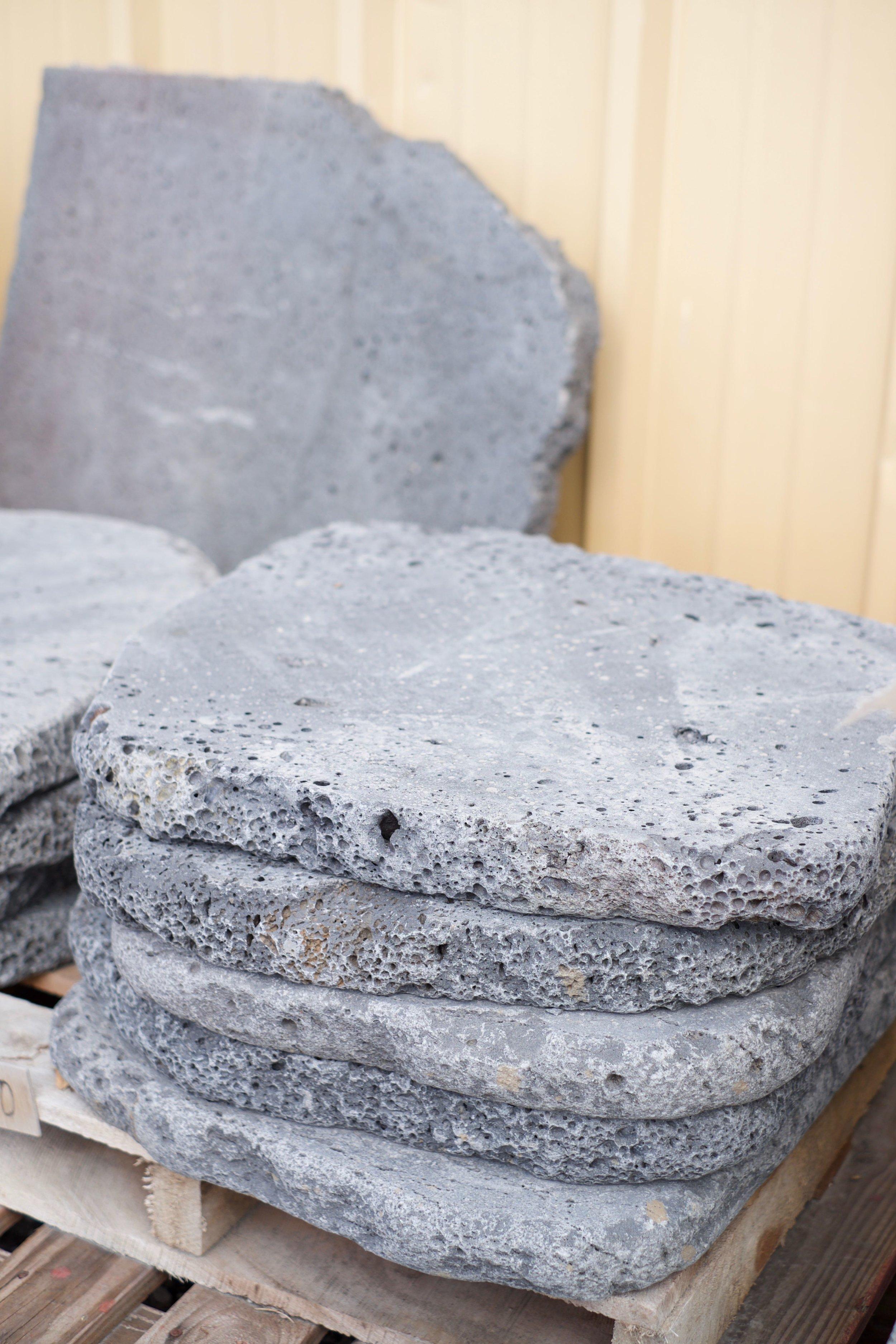 Jurassic Stoneworks lava pavers