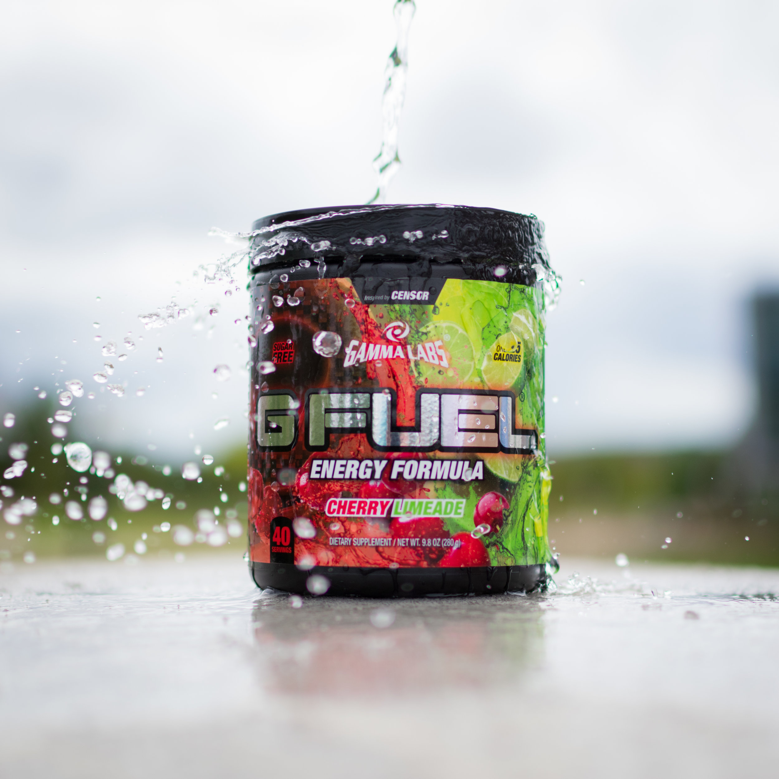 G Fuel Product Photography