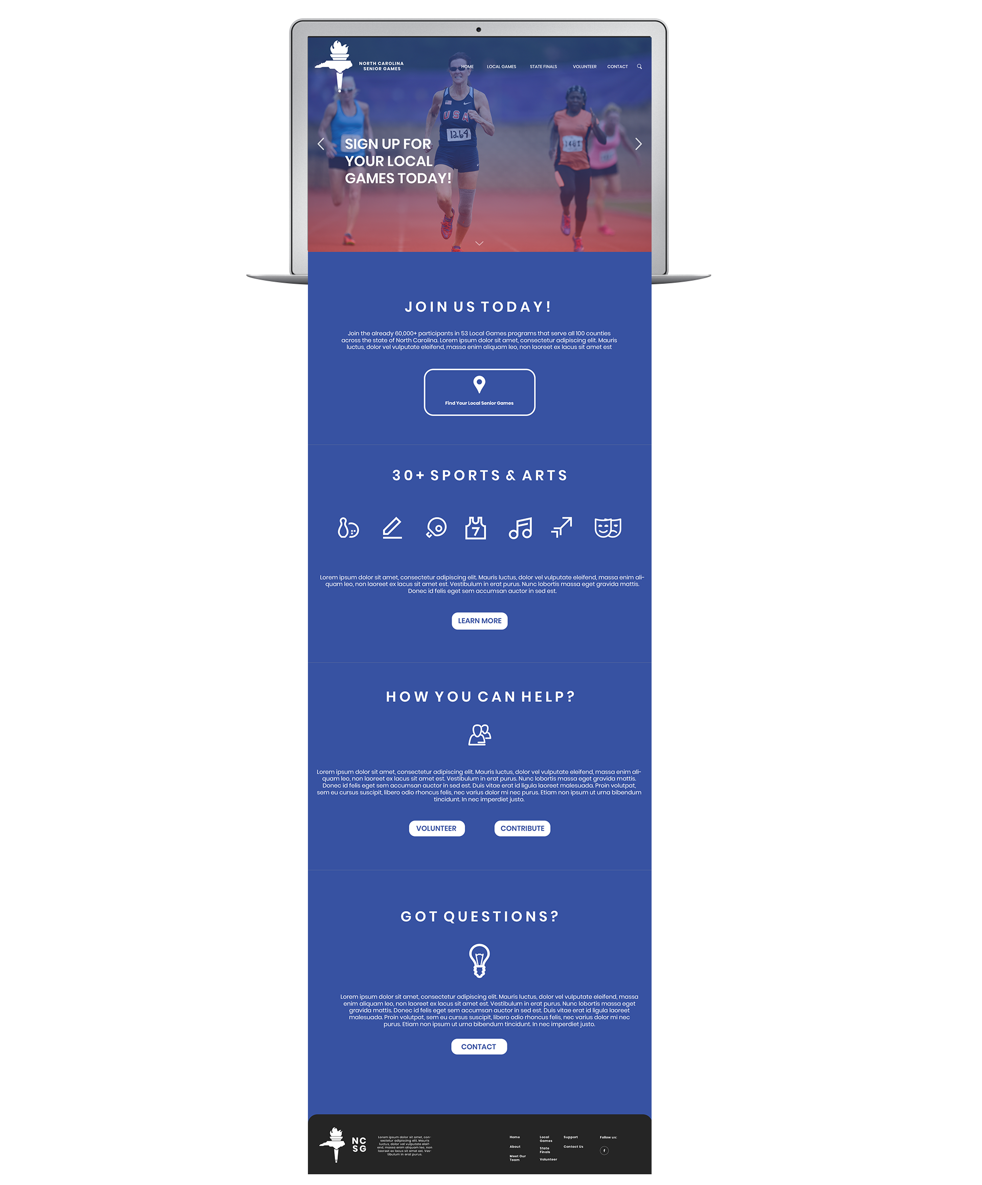 Early Website Concept