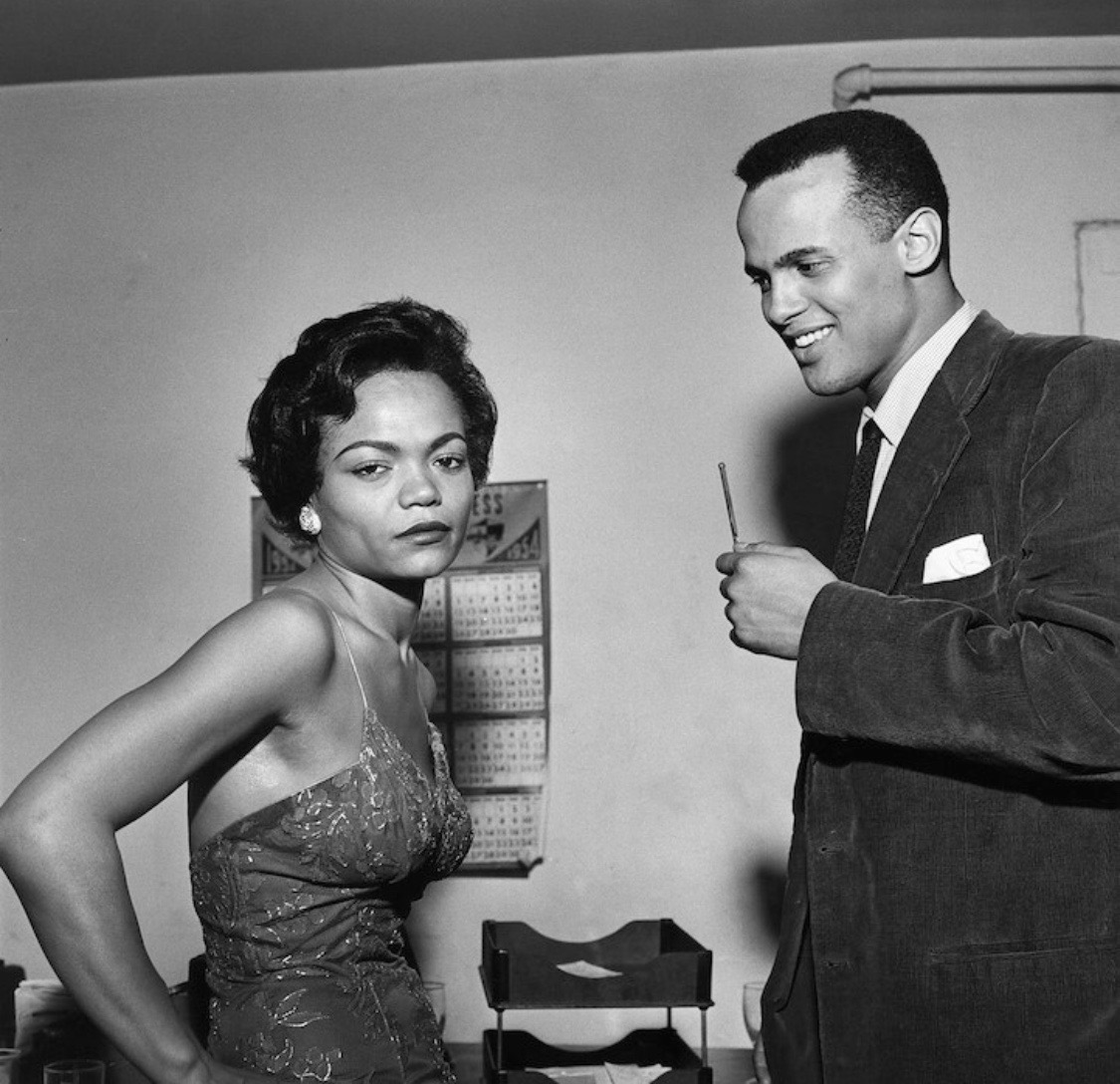 Eartha Kitt and Harry Belafonte  Eartha Kitt was fluent in French during her long years performing in Europe.